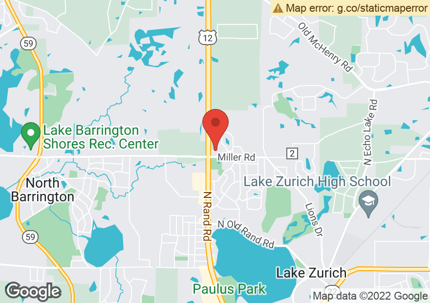 Google Map of 910 N RAND RD