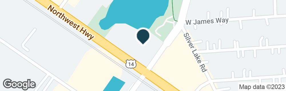 Google Map of500 NORTHWEST HWY