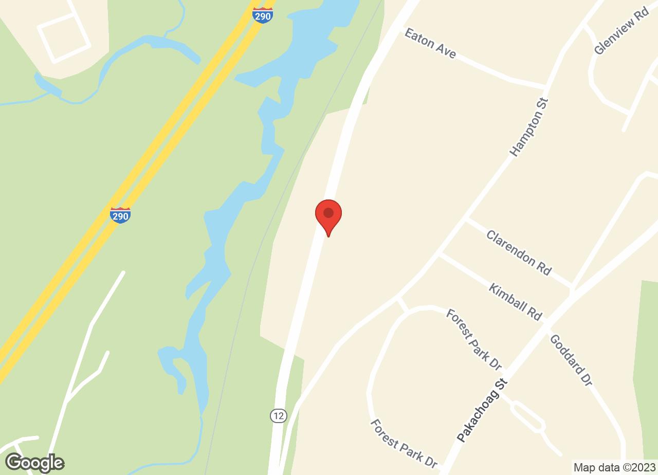Google Map of VCA Auburn Animal Hospital