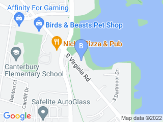 Map of Doggie Daycare Delight Dog Boarding options in Crystal Lake | Boarding