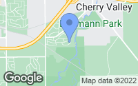 Map of Cherry Valley, IL