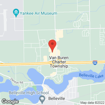 Map of Check `n Go Belleville Road at 10816 Belleville Road, Belleville, MI 48111