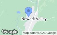 Map of Newark Valley, NY