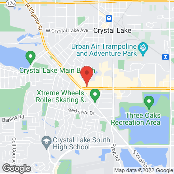 Map of Check `n Go at 6500 Northwest Highway, Crystal Lake, IL 60014