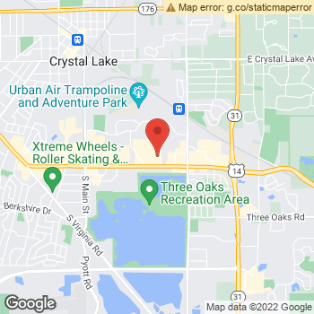 Map of Joseph Herba, OD at 5300 Northwest Hwy, Crystal Lake, IL 60014