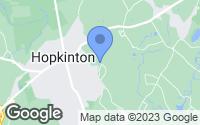 Map of Hopkinton, MA