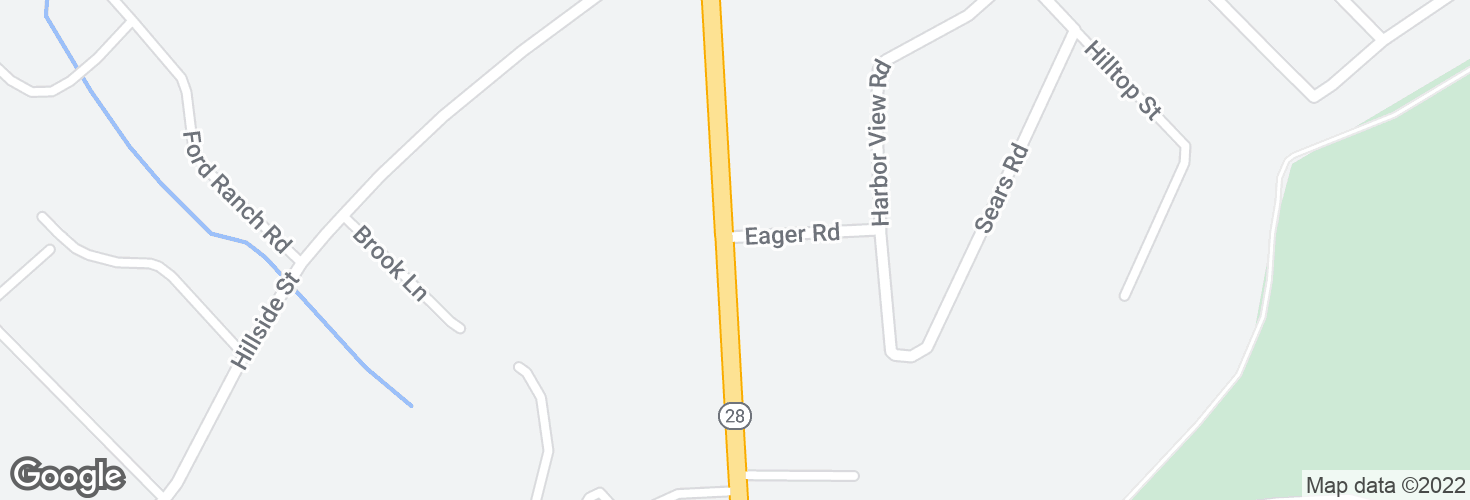 Map of Randolph Ave @ Eager Rd and surrounding area