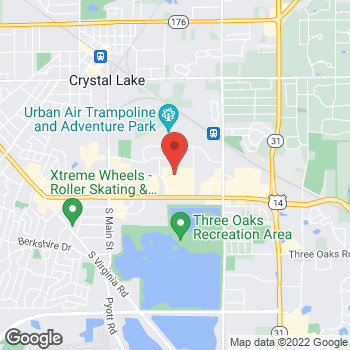 Map of buybuy BABY at 5540 Northwest Highway, Crystal Lake, IL 60014