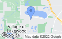 Map of Village of Lakewood, IL