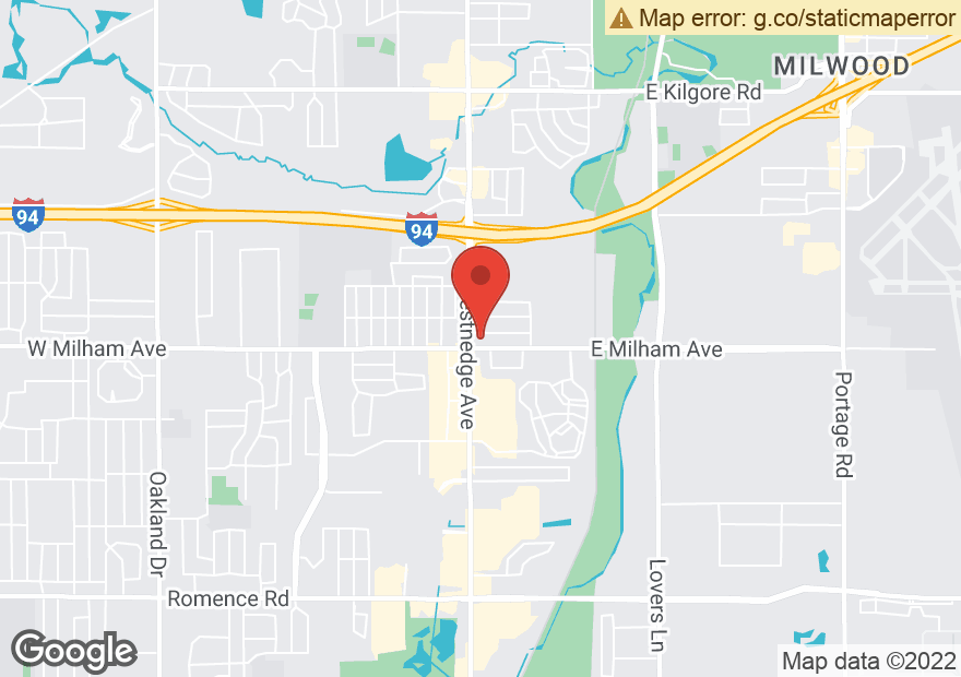 Google Map of 5933 S WESTNEDGE AVE