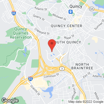 Map of Alex Grilli, MD at 500 Congress Streetsuite 2B, Quincy, MA 02169