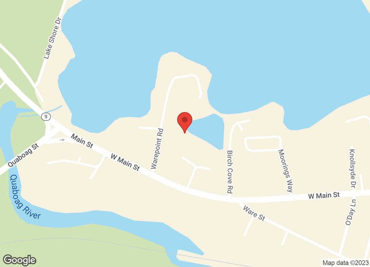 Google Map of VCA Wickaboag Animal Hospital