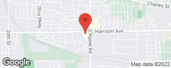 Map of 4415 Harrison Ave in Rockford