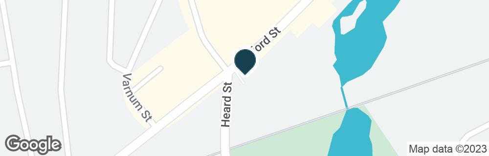 Google Map of99 STAFFORD ST