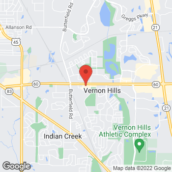 Map of Hair Cuttery at 271 W Townline Rd, Vernon Hills, IL 60061