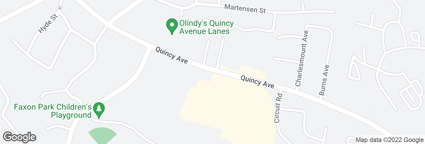 Map of Quincy Ave opp Richard St and surrounding area
