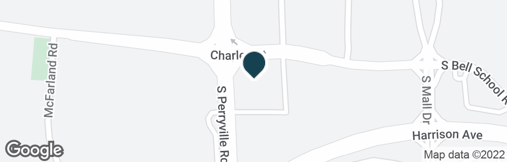 Google Map of2404 S PERRYVILLE RD