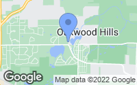 Map of Oakwood Hills, IL