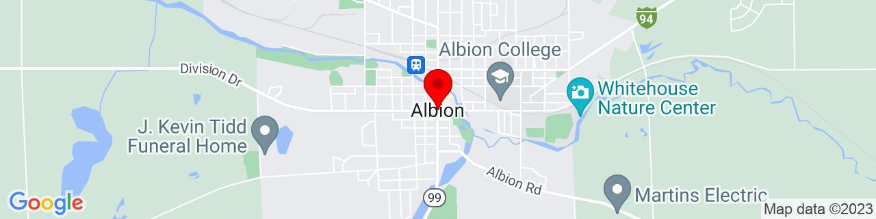 Google Map of 42.243097, -84.7530304