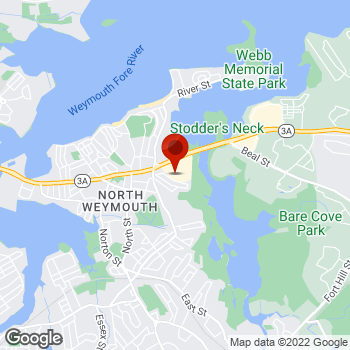 Map of Staples® Print & Marketing Services at 729 Bridge St, Weymouth, MA 02191