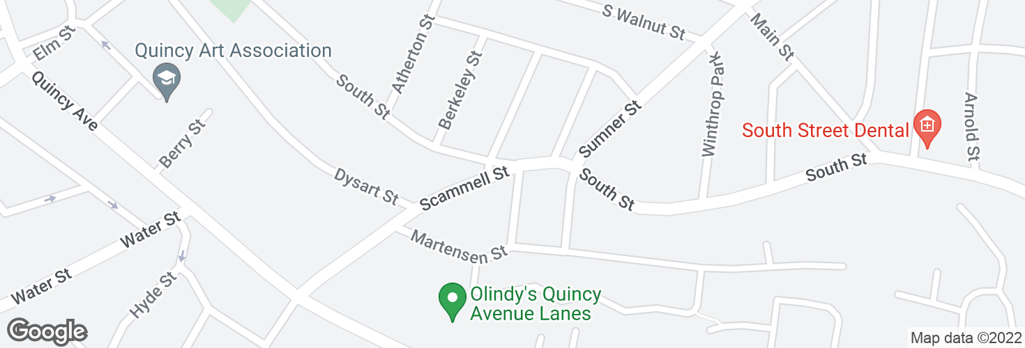 Map of Scammell St @ Mary St and surrounding area