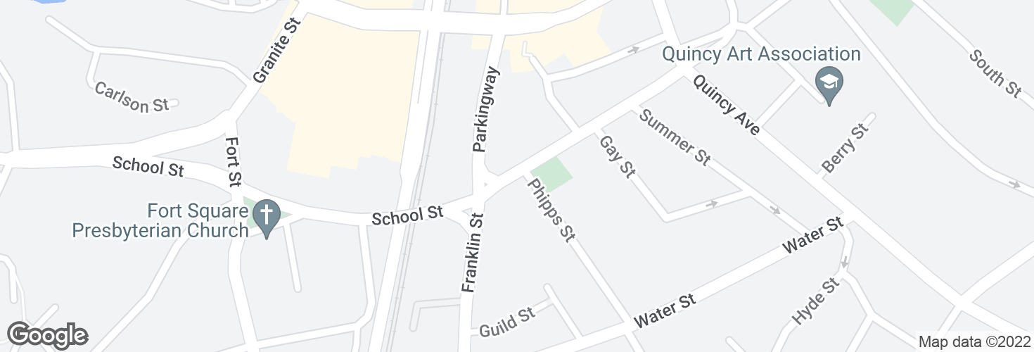 Map of School St @ Phipps St and surrounding area