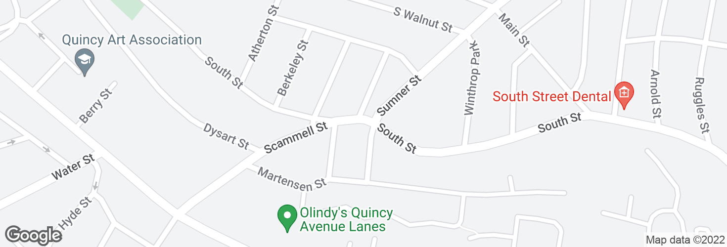 Map of South St @ Keating St and surrounding area