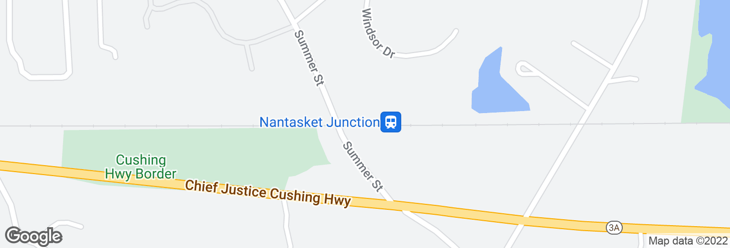 Map of Nantasket Junction and surrounding area