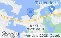 Map of Weymouth, MA