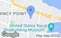 Map of Quincy, MA