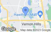 Map of Vernon Hills, IL