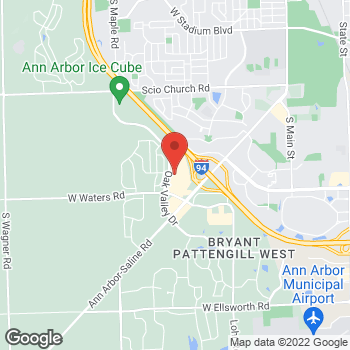 Map of Sprint at 2827 Oak Valley Dr, Ann Arbor, MI 48103