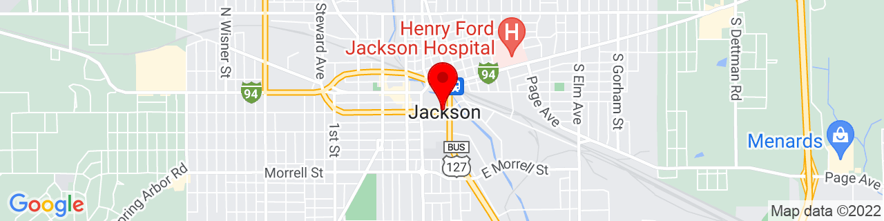 Google Map of 42.24583333333334, -84.40138888888889