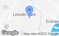 Map of Lincoln Park, MI
