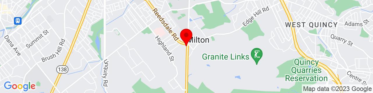 Google Map of 42.248136, -71.069575