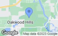 Map of Oakwood Hills, IL