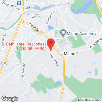 Map of Richard Spiro, MD at 100 Highland Streetsuite 109, Milton, MA 02186