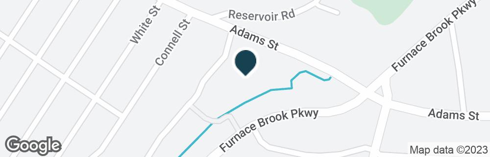 Google Map of550 ADAMS ST