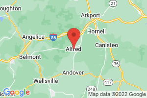 Map of Alfred
