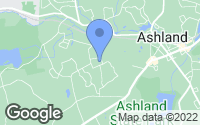 Map of Ashland, MA