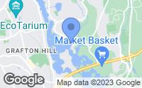 Map of Shrewsbury, MA