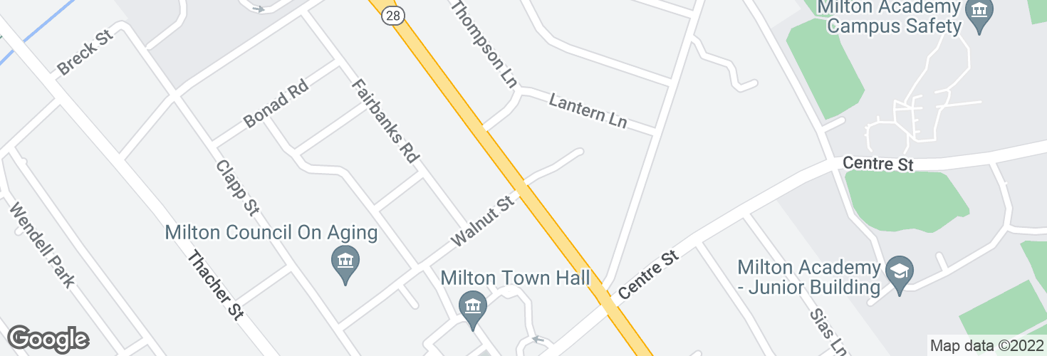 Map of Reedsdale Rd @ Walnut St and surrounding area