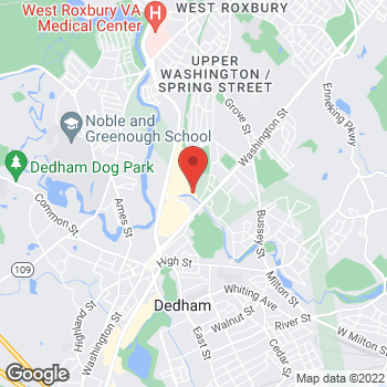 Map of Dennis Teehan Jr., MD at 200 Providence Highway, Dedham, MA 02026