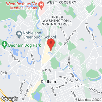 Map of SMG Dedham Primary Care at 200 Providence Highway, Dedham, MA 02026