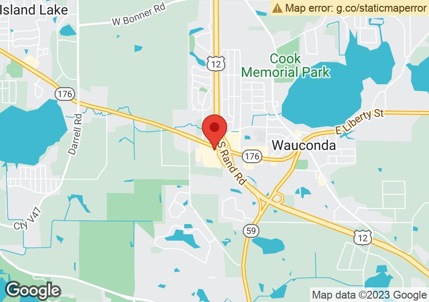 Google Map of 602 W LIBERTY ST
