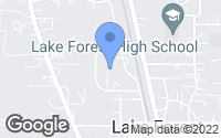 Map of Lake Forest, IL
