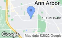 Map of Ann Arbor, MI