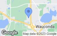 Map of Wauconda, IL
