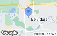 Map of Belvidere, IL