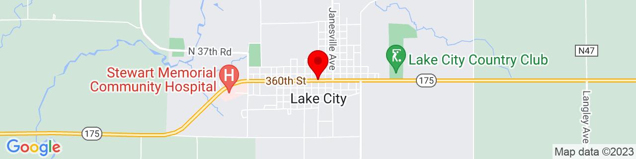 Google Map of 42.2674828, -94.7338704